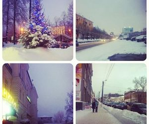 beautiful, russia, and winter image