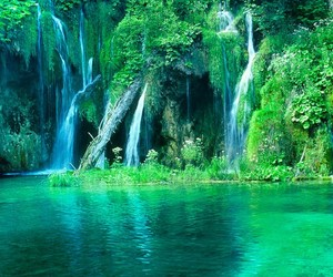 water, nature, and paradise image