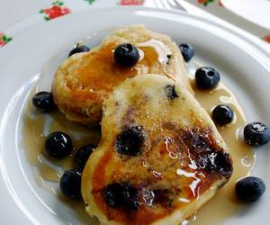 blueberry, food, and delicious image