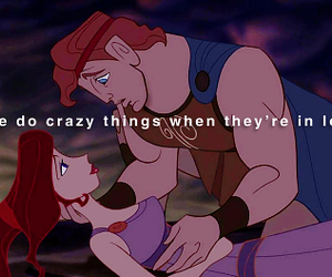 love, disney, and hercules image