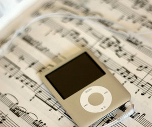 apple, music, and photography image