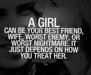 girl, quotes, and wife image