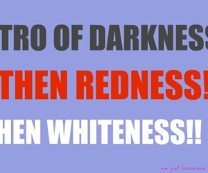 (L), Darkness, and redness image