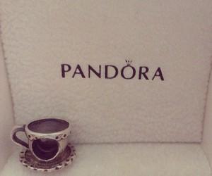 charm, cup, and pandora image