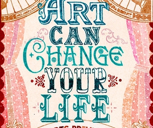 art, poster, and colors image