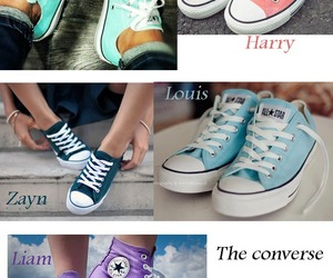 converse, louis, and outfit image