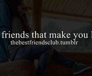best friends, laugh, and make image
