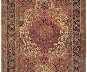 persian carpet, antique carpet, and feraghan rug image