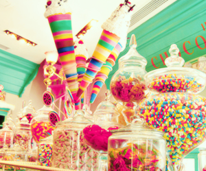 candy, sweet, and love image