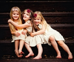 love and little girl image