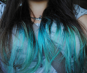 hair, girl, and cool image