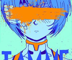 anime, evangelion, and rei image