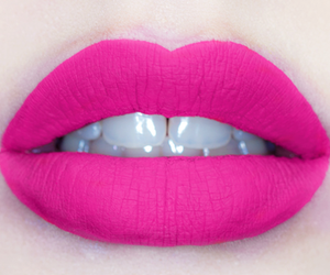 lips, pink, and white image