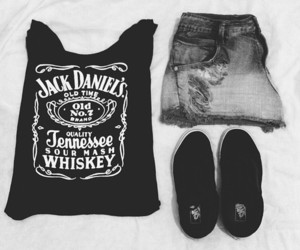 fashion, style, and jack daniels image