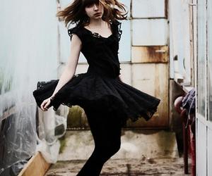 black, fashion, and dress image