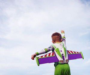 boy, toy story, and buzz lightyear image
