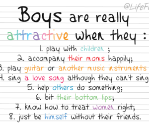 boy, attractive, and quote image