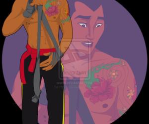disney, mulan, and shang image