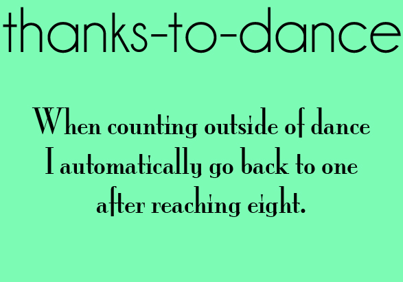 Thanks To Dance Via Tumblr On We Heart It