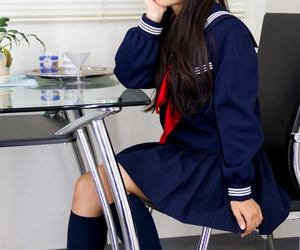 japan, japanese schoolgirl, and japanese image
