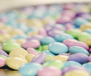candy and pastel image