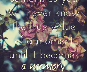 life, memories, and quote image