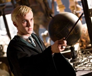 harry potter, draco malfoy, and hbp image