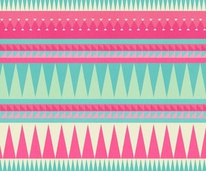 wallpaper, pink, and tribal image