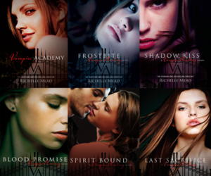 vampire academy, book, and vampire image