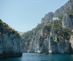 nature, capri, and italy image