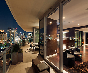 house, luxury, and city image