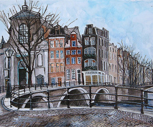 amsterdam, arts, and canvas image
