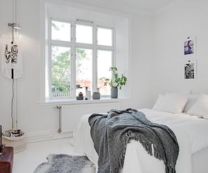 home, interior design, and white image