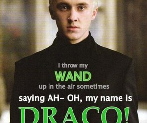 harry potter, draco, and draco malfoy image