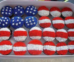 cupcake, usa, and america image