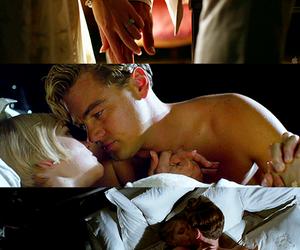 Leonardo di Caprio, the great gatsby, and love image