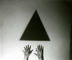 triangle, hands, and hipster image