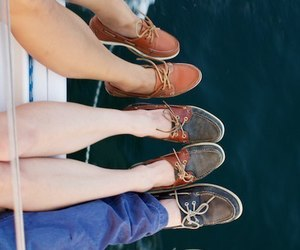 shoes, friends, and boy image