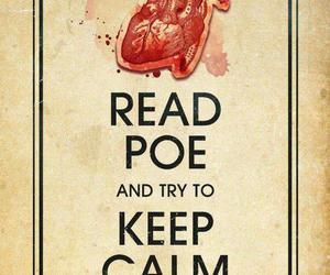 edgar allan poe and keep calm image