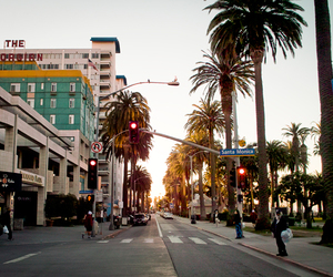 street, los angeles, and california image