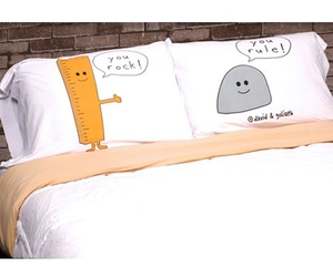 pillow, funny, and rock image