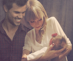 Taylor Swift, baby, and Harry Styles image