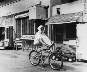 1940s, bicycle, and vintage image