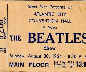 the beatles, beatles, and ticket image