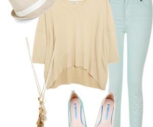 bag, pants, and style image