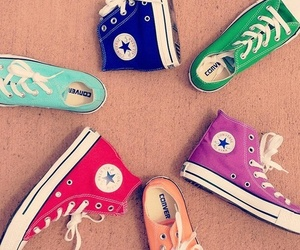 converse, shoes, and colors image