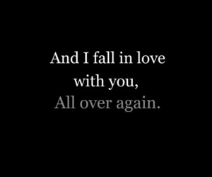 love, quote, and again image