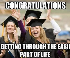 graduation, school, and funny image
