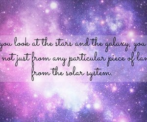 galaxy, quotes, and text image
