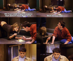 chandler, Jennifer Aniston, and quote image